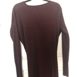 Maroon Lululemon Sweater Dress